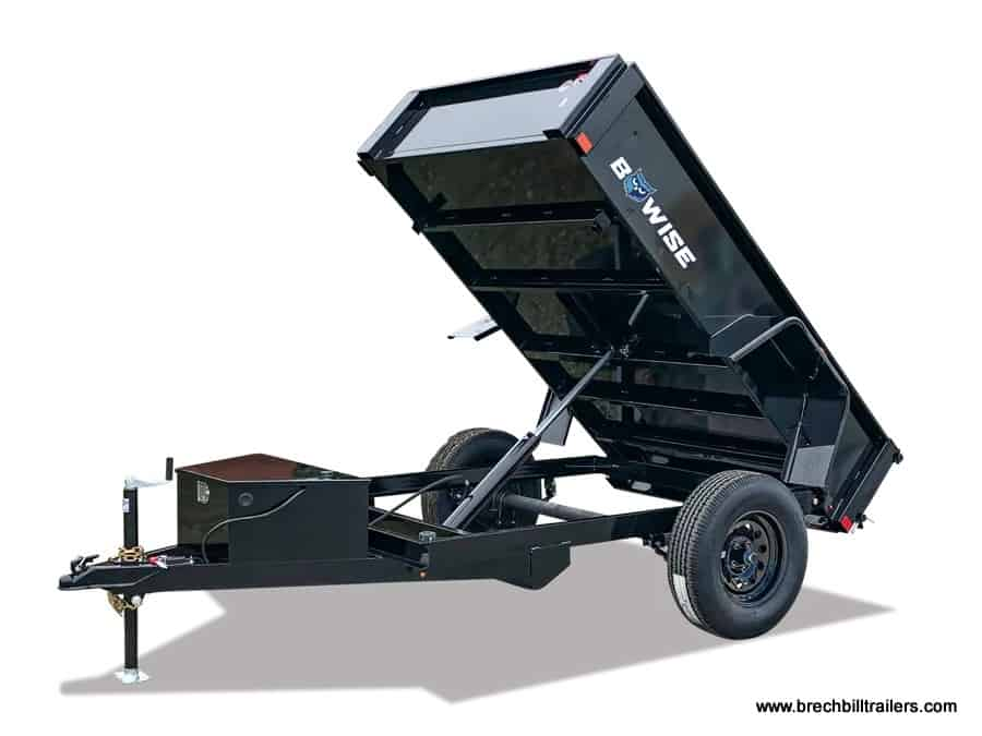Bwise small dump trailer