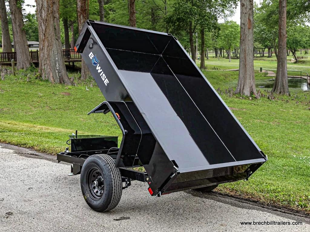 Bwise small dump trailer for sale 5k