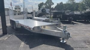 aluminum eby low pro trailer
