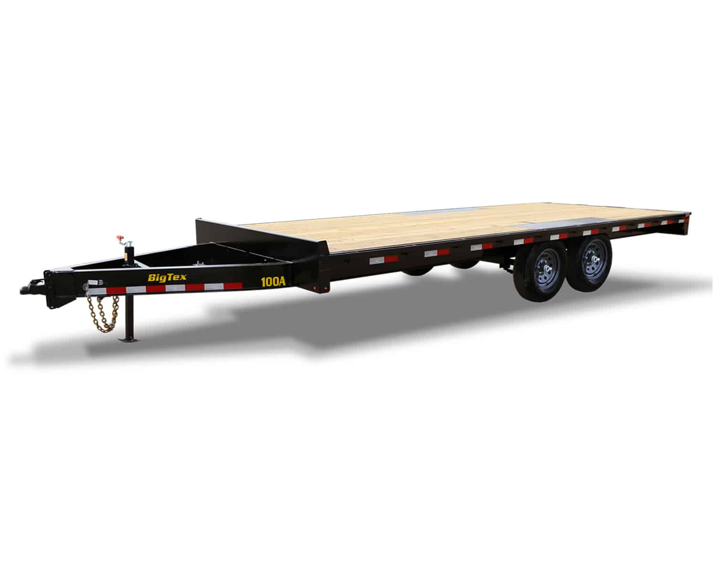 Pro Series Over-The-Axle Bumperpull Trailer Deck-Over Equipment Trailer