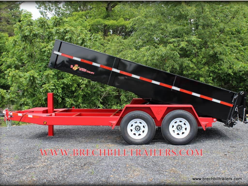 STEEL BWISE DUMP TRAILER FOR SALE