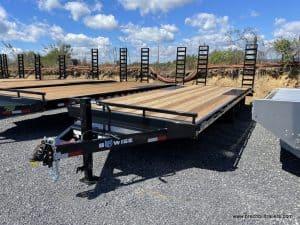 Heavy Duty Equipment Deck-Over Hauler