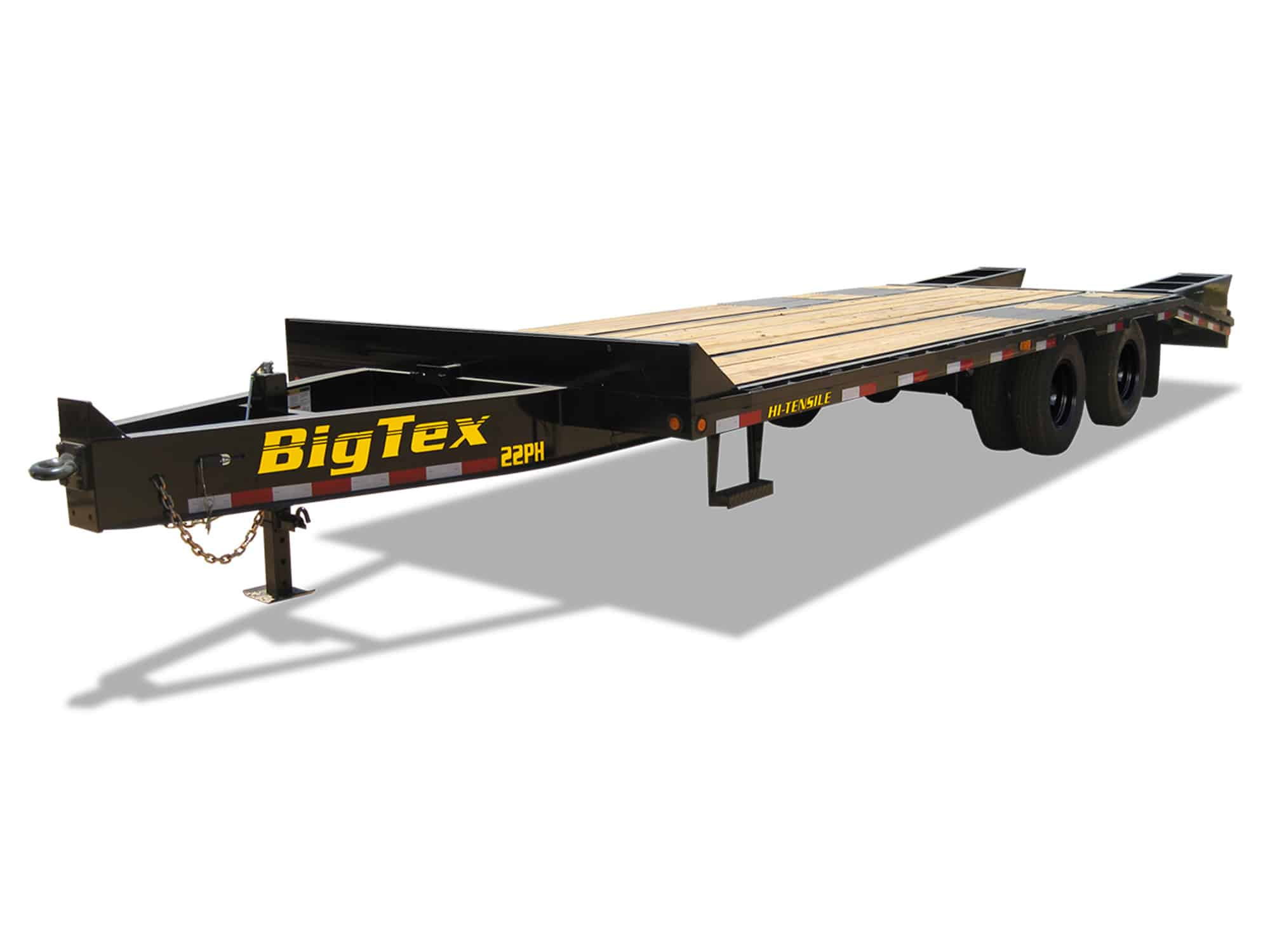 DECK OVER EQUPMENT TRAILER WITH 1/3 RAMPS