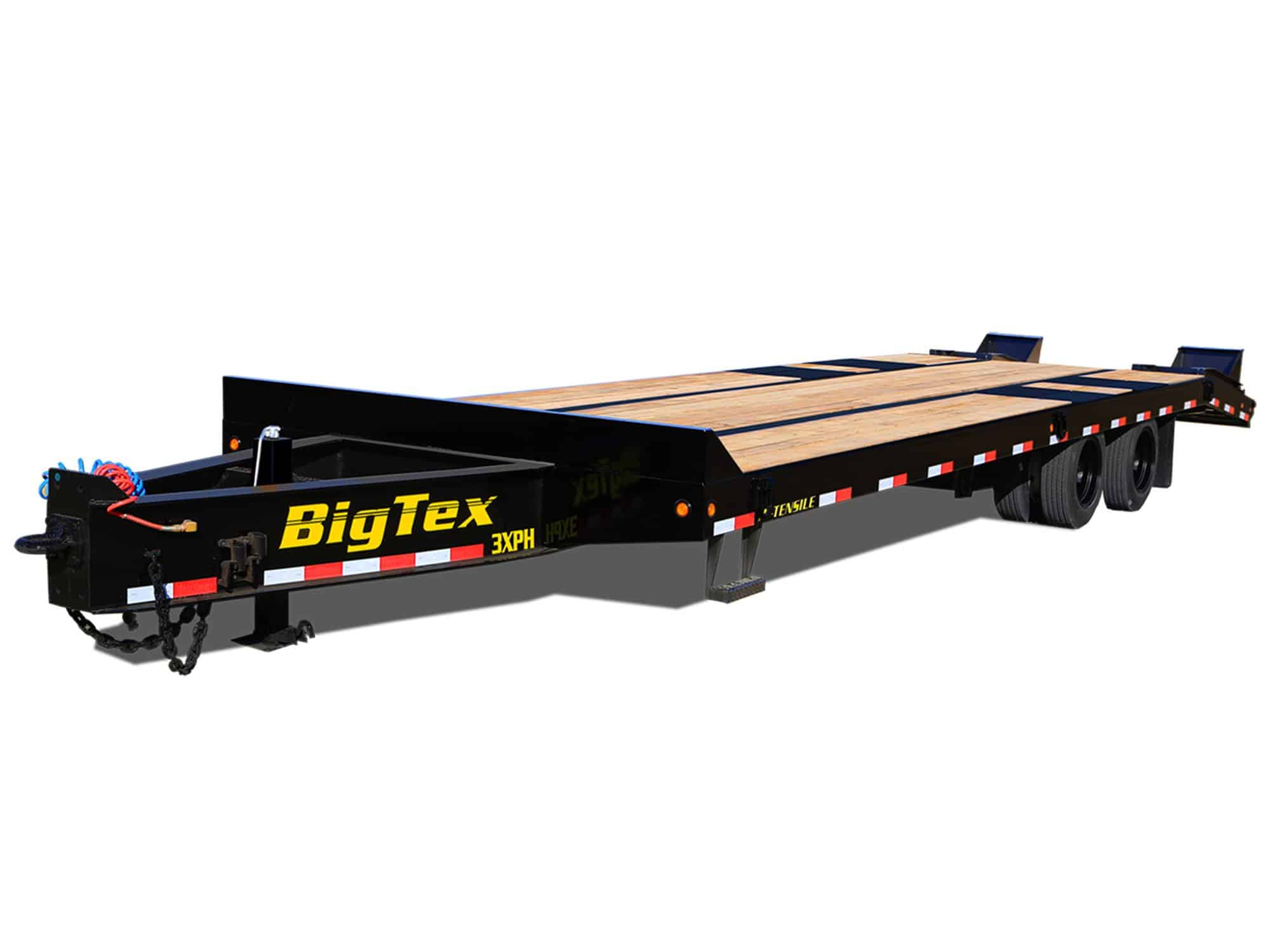 super heavy duty deck over equipment hauler