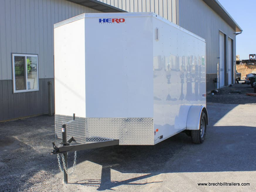 HERO CARGO ENCLOSED BOX TRAILER WITH HERO PACKAGE A